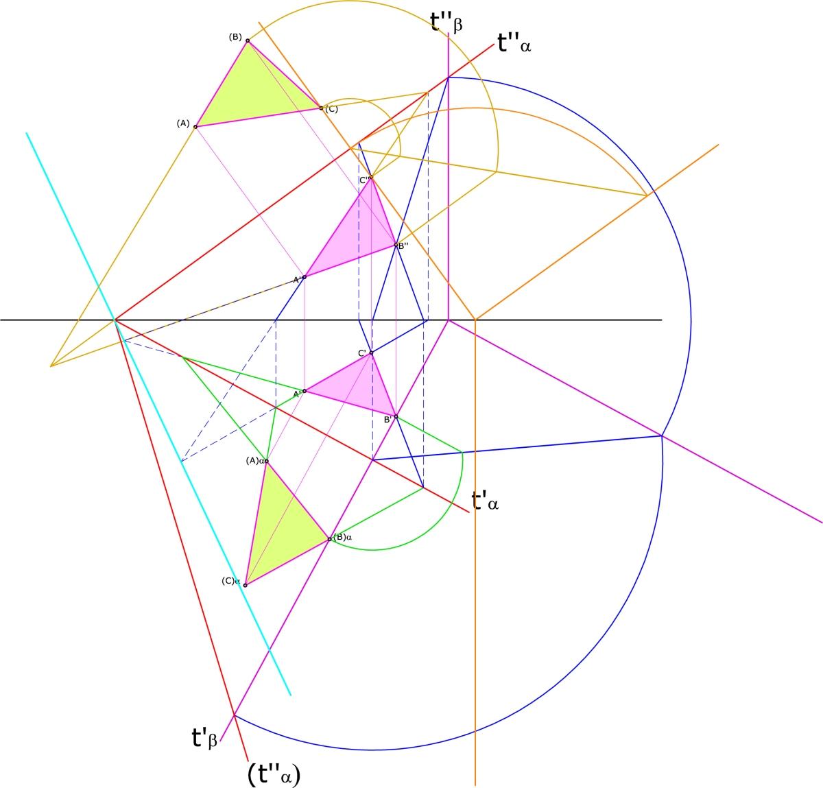 Geometria descrittiva architettura una finestra sulle for Programma di architettura